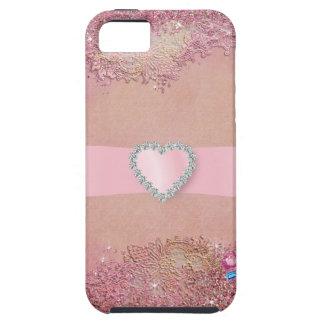 Bling Pink - SRF Tough iPhone 5 Case