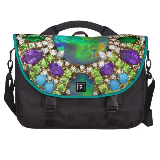 Bling Rhinestone Costume Jewelry Bags For Laptop