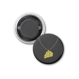 Bling Small 3 Cm Round Magnet