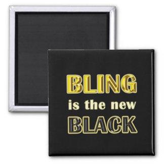 Bling Square Magnet