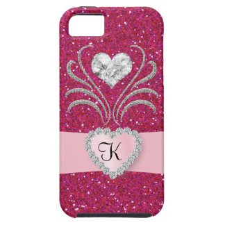 Bling - Sweet Heart Pink  -  iPhone5 Case