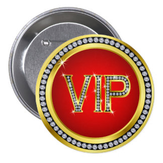 Bling VIP Button - srf