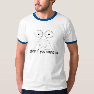 Blink If You Want Me Men's Ringer T-shirt