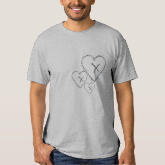 Blink-x targeted heart t-shirts