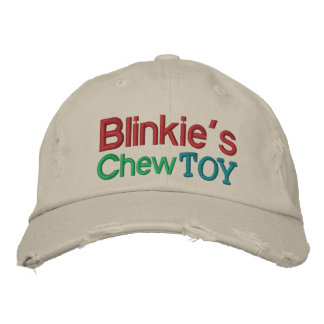 Blinkie s Chew Toy Cap by SRF Embroidered Baseball Caps