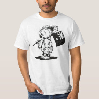 Blinky Bill Australian Flag T-Shirt