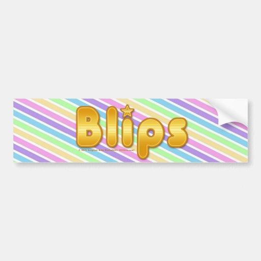 Blips Bumper Stickers