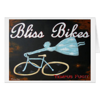 Bliss Bikes Notecard