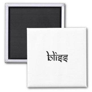 Bliss Design on Sanskrit Style Refrigerator Magnets