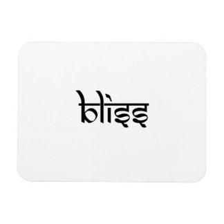 Bliss Design on Sanskrit Style Flexible Magnet