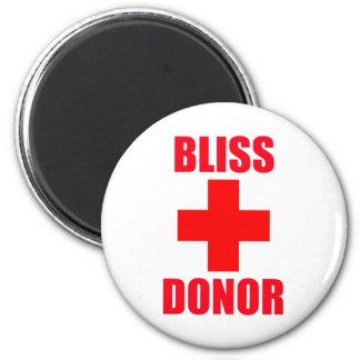 Bliss Donor Fridge Magnet