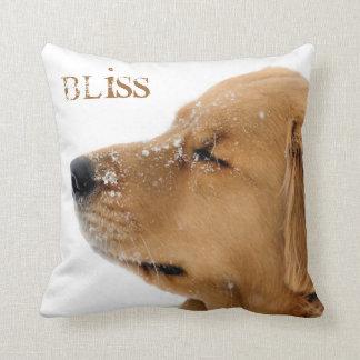 Bliss Golden Retriever Cushion