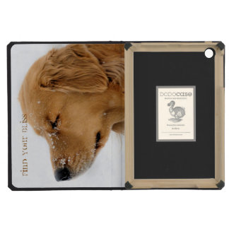 Bliss Golden Retriever iPad Mini Retina Cover