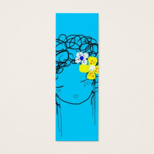 Bliss - Mimi Yoya Girl BOOKMARK Mini Business Card