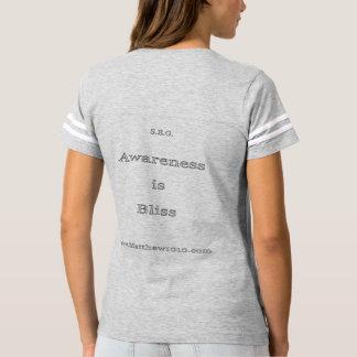 Bliss womens football T T-shirts