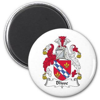 Blisse Family Crest Fridge Magnet