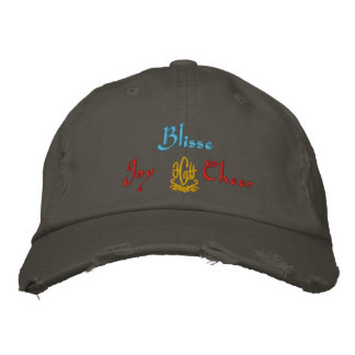 Blisse Name With English Meaning Nickel Embroidered Hat
