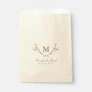 Blissful Branches Favour Bags