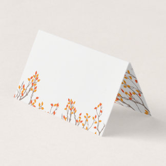 Blissful Branches Place Card