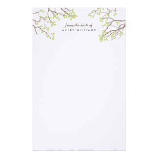 Blissful Branches Stationery