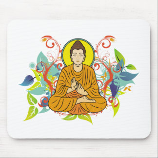 Blissful Buddha Mouse Mat