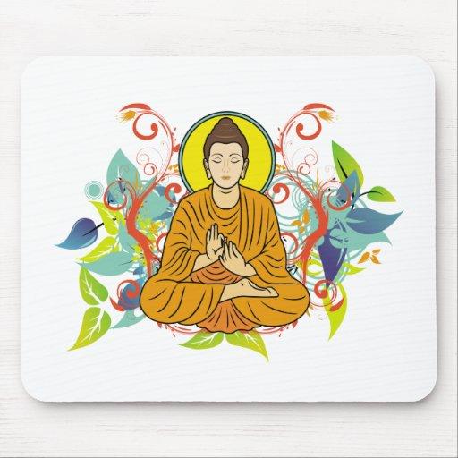Blissful Buddha Mouse Mats