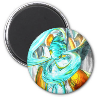 Blissfulness Pastel Abstract Magnets