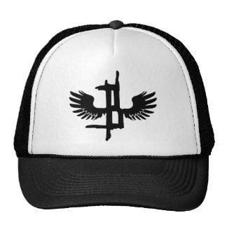 Blister. Black Feather Trucker Hat