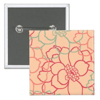 Blithesome, winter, artist, colorful, courteous, a 15 cm square badge