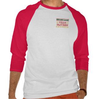 Blitzen Shirt Baseball Raglan Henley