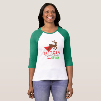 Blitzen... The Greatest Reindeer of All! Tee Shirts