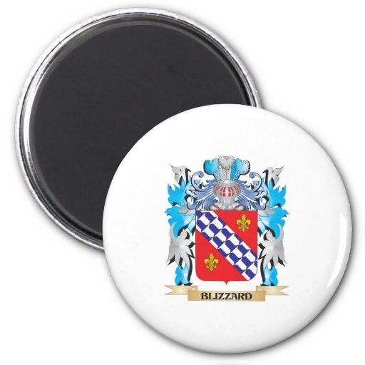 Blizzard Coat of Arms Refrigerator Magnet