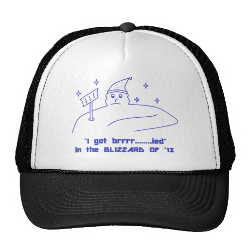 BLIZZARD OF '13 HAT