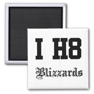 blizzards square magnet