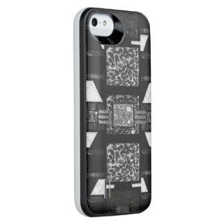 Blk&Wht Leopard Pattern iPhone 6 Plus Case