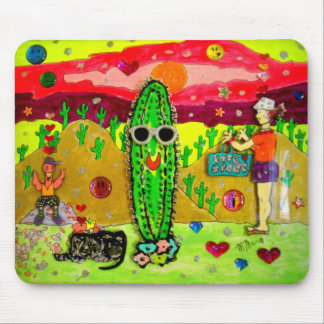Bloated Cactus Mouse Pad