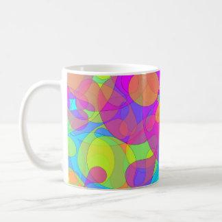 Blob 1 basic white mug