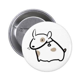 Blob Dog 6 Cm Round Badge