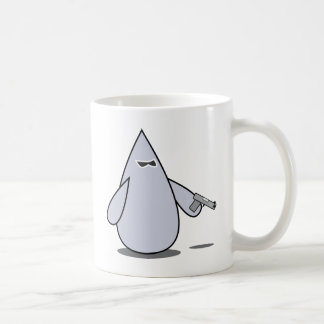 blob pistol basic white mug