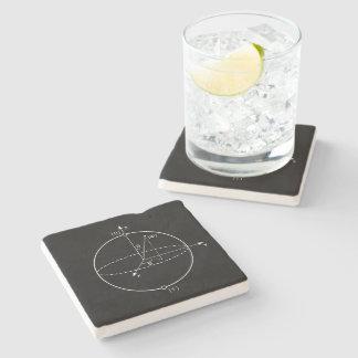 Bloch Sphere   Quantum Bit (Qubit) Physics / Math Stone Coaster