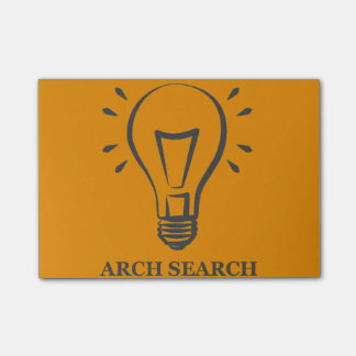 Block Arch Search Post-it Notes