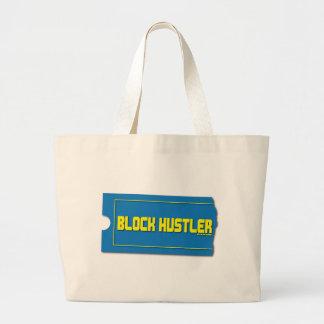 Block Hustler Canvas Bag