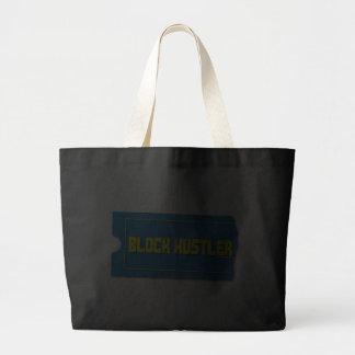 Block Hustler Tote Bags