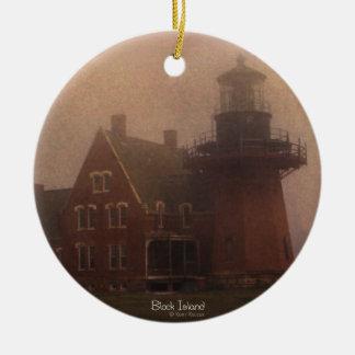 Block Island Lighthouse Christmas Ornament