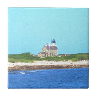 Block Island North Light Tile