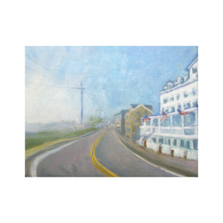 Block Island Oil Painting Reproduction Canvas Print