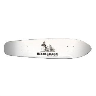Block Island. Skate Boards