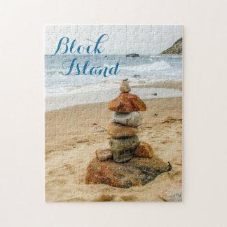 Block Island Stone Cairn Puzzle
