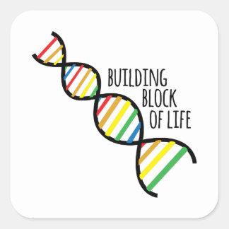 Block of Life Square Sticker