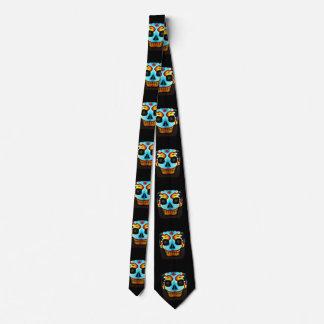 Block Skull Tie